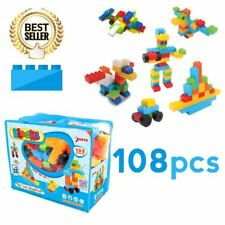 SUNTA BLOCKS [ 108pcs ] Children Toy Building Block