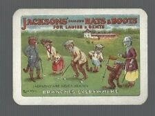 Swap Playing Cards 1 CATS PLAYING GOLF ADVT FOR HATS & BOOTS  ART LOU WAIN  AD31