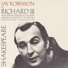 Jay Robinson - William Shakespeare: King Richard III [New CD]