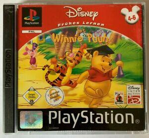 PS1 Frühes Lernen mit Winnie Puuh 4 - 6 OVP Sony Playstation 1 BESTSELLER