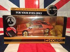 CORGI CC04704 James Bond AUTO LOTUS ESPRIT TURBO per i tuoi occhi solo 1:36 Nuovo di zecca