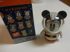 "DISNEY VINYLMATION 3"" MICKEY & FRIENDS IN SPACE MINNIE MOUSE GOLD RETRO VARIANT"