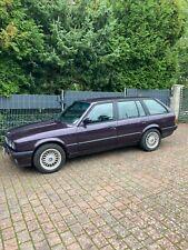 BMW E30 Kombi einer der letzten mit Schiebedach u TÜV Doytona Violett