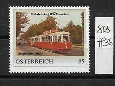 Österreich PM personalisierte Marke Philatelietag BSV Favoriten 8137936 **