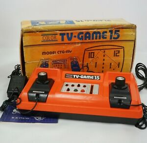 Nintendo Color TV GAME 15 Console Boxed CTG15V Tested System 3090183