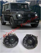W463 Bi-Xenon LED Dark Headlights Mansory Style Mercedes G-Class 1990-2007