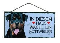 Türschild Haustierschild Schild Holzschild Deko Bild Wandbild ♥ Pit Bull Hund