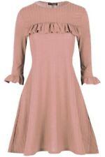 Markenlose Damenkleider im Retro-Stil mit Swing