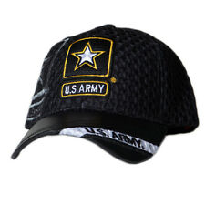 cd937ebd08b39 US Honor Official Embroidered Air Flow Army Star Logo Baseball Caps Hats