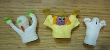 Finger Puppets Halloween Lot of 3