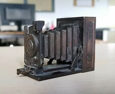 1970 Vintage Metal Pencil Sharpener Photo Camera PLAY ME Made in Spain Ref 982