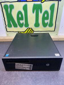 HP PRO DESK 800 G1 SLIM Core I5 4570 3.2GHZ 4GB 500GB WINDOWS 10 CHEAP PC UK #6T