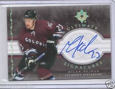 2006-07 Ultimate Collection Signatures Autograph Milan Hejduk AUTO
