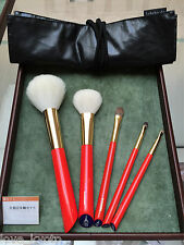 F/S Hakuhodo Vermilion Hand Crafted Makeup Brushes 5pcs Ltd. Set only Kyoto Shop
