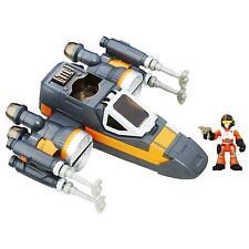 Playskool Star Wars Galactic Heroes Poe's X-Wing Fighter Figures Hasbro DEALS