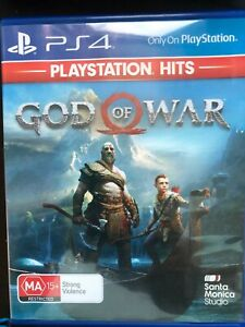 God Of War Playstation 4 PS4 Game PAL **FREE TRACKED POSTAGE**
