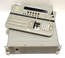 Sony DFS-700 DME Switcher & Sony DFS-700 Control Panel