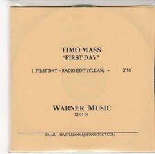 (EE500) Timo Mass, First Day - 2005 DJ CD