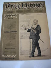 Revue illustrée mai 1886 Portrait de MEISSONIER par Renouard