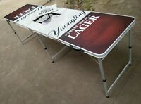 Yuengling Beer Pong Table 8 x 2 - New (Still In Box)