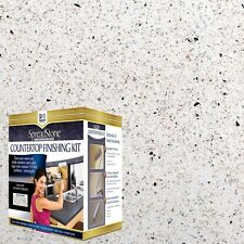 DAICH SpreadStone 4-Pc DIY White Countertop Refinishing Kit Great Cabinet Paint