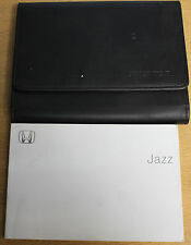 HONDA JAZZ OWNERS MANUAL HANDBOOK WALLET 2001-2005 PACK E-697