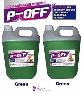 2x5L POFF Fragranced Kennel/Cattery Disinfectant Cleaner Deodoriser - Xmas Spice