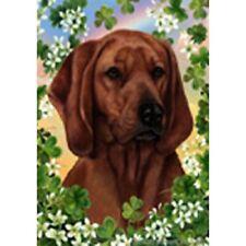 Clover Garden Flag - Redbone Coonhound 314041