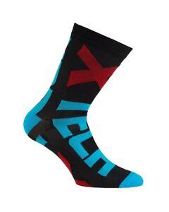 XTech XT132 Socks Cycling, Black/Blue