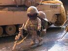 PLAYMOBIL CUSTOM US NAVY SEAL (AMERICAN SNI.)UNIF.DESERT(IRAK-2003) REF-0187 BIS