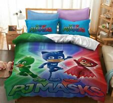 PJ Masks Single/Double/Queen/King Bed Quilt Cover Set
