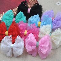 40//80pcs Padded Felt heart Sequin Appliques Craft Kid/'s Doll Lots U Pick A186