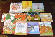 Set of 11 HB/PB Nancy Tafuri Picture Books Duckling Mama Bear Signed T1