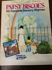 PATSY BISCOE'S 50 FAVOURITE NURSERY RHYMES.