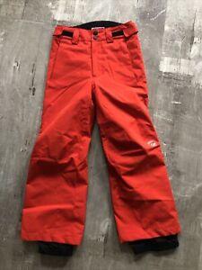 Rossignol Boys Size 8 Red Black Ski Snow Pants