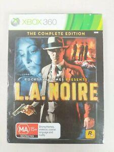 LA Noire - The Complete Edition - Xbox 360 (4 Discs) - PAL