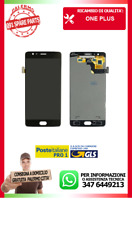 FLAT FLEX LCD DISPLAY VETRO TOUCH ONEPLUS 3 ONE PLUS FULL NERO CON FRAME