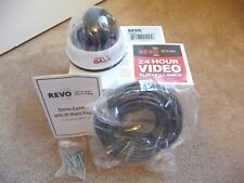 NEW! Revo RCDY12-1 Surveillance DOME Camera - Color, I/R CCD  with K14 Cable