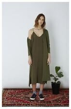 The Fifth Label Lucidity Slip Dress Khaki Rrp $80 NWT General Pants Size XS 8