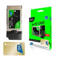 TivuSat Modul + Karte DigiQuest CI+ Smarcam - Smartcard Gold HD 4K - Aktiviert