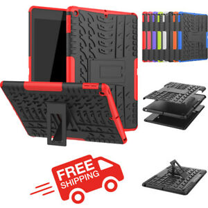 """Armor Heavy Duty Shockproof Stand Cover For iPad Pro 11 10.2"""" 8th Gen Air Mini 5"""