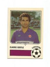FIGURINA CALCIATORI CARD FORZA GOAL - Claudio GENTILE -  1985-86 - OTTIMA