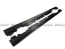 For Mercedes BENZ W176 AMGG Revo Style Carbon Side Skirt Extension Addon Kits