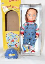 "Chucky 12"" Dream Rush Good Guy Doll Childs Play w/Hat & patch Toy Figure Medicom"