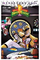 MIGHTY MORPHIN POWER RANGERS #40 SDCC 2019 GAMESTOP EXCLUSIVE VARIANT NM WHITE