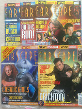 FARSCAPE MAGAZINE 1,2,3,4,5 POSTERS AND POSTCARDS COMPLETE
