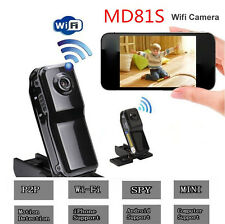 HD Camcorder Wifi Sport Mini P2P Video Wireless IP Camera DVR MD81S DVR Recorder