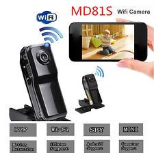 HD Camcorder Wifi Sport Mini P2P Video Wireless IP Camera DVR MD81S DVR Recorder