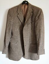 Giacca Uomo HENRY COTTONS lana Men Jacket Suit Scacchi Virgin Wool Check 50