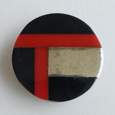 Bouton ancien - Parurier - Galalithe - Inclusion - Ardor - 28 mm- Vintage Button